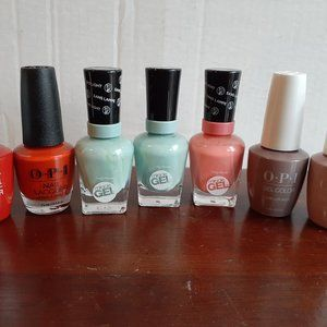 OPI Fall Colors Nail Gel Lacquer Combo Set 7 pc